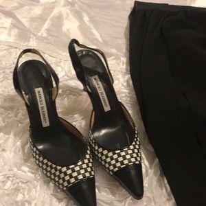 EUC, very beautiful style of black/white checkered